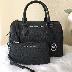 Michael Kors Large Bedford duffle satchel & wallet